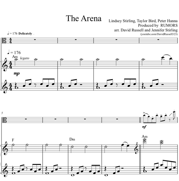 VIOLA The Phoenix w/ KARAOKE Play-Along Tracks - Sheet Music