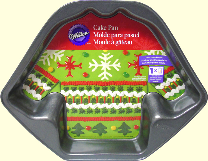 ugly sweater /Jersey cake pan