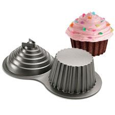 3d giant cup cake cake pan