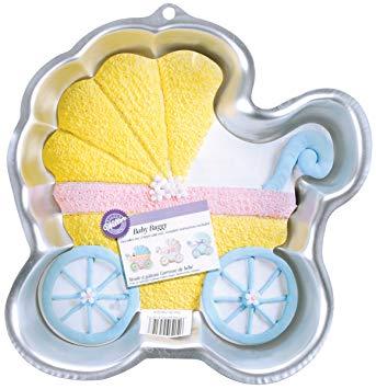 baby buggy cake pan