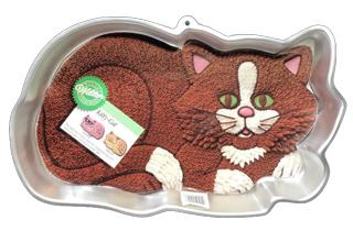 Cat cake pan