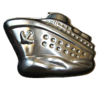 cruise ship cake pan