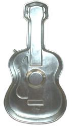 Large guitar cake pan
