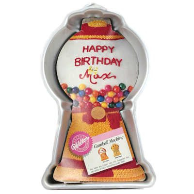 gumball machine cake pan