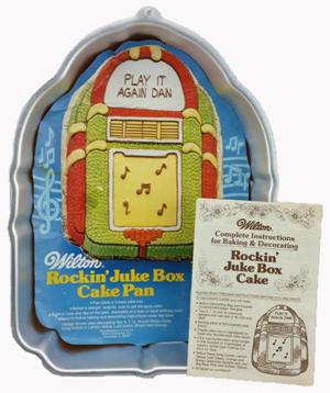 juke box cake box