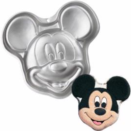 Mickey Mouse face cake pan