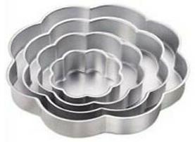 petal cake pans