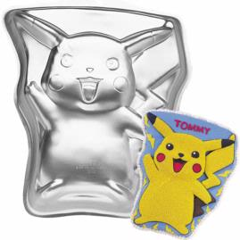 pokemon pickachu cake pan