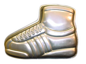 running shoe cake pan