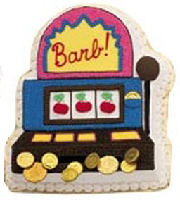 Slot Machine cake pan