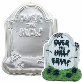 tombstone over the hill cake pan