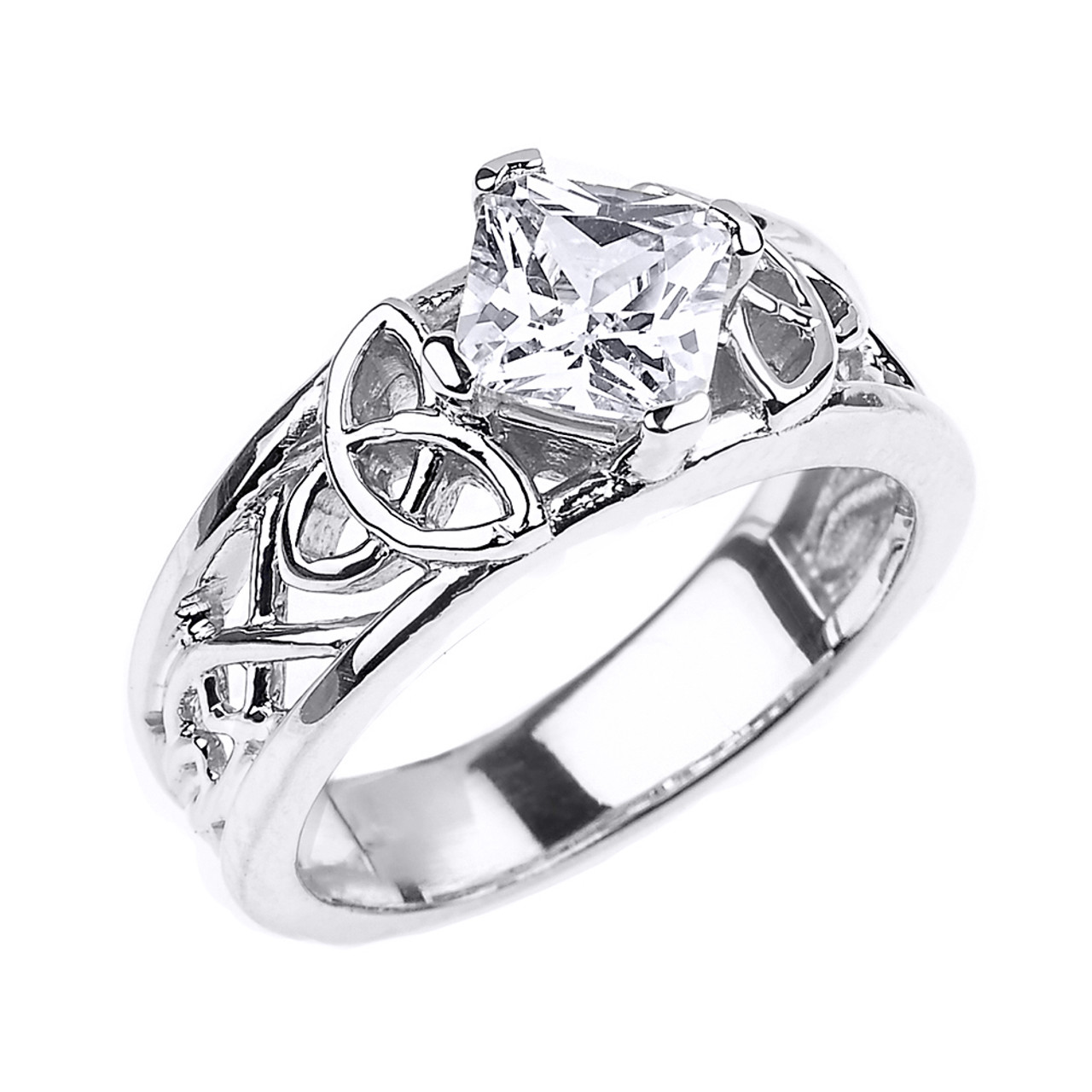 la ring rose amour rings sterling product l white engagement diamond products silver