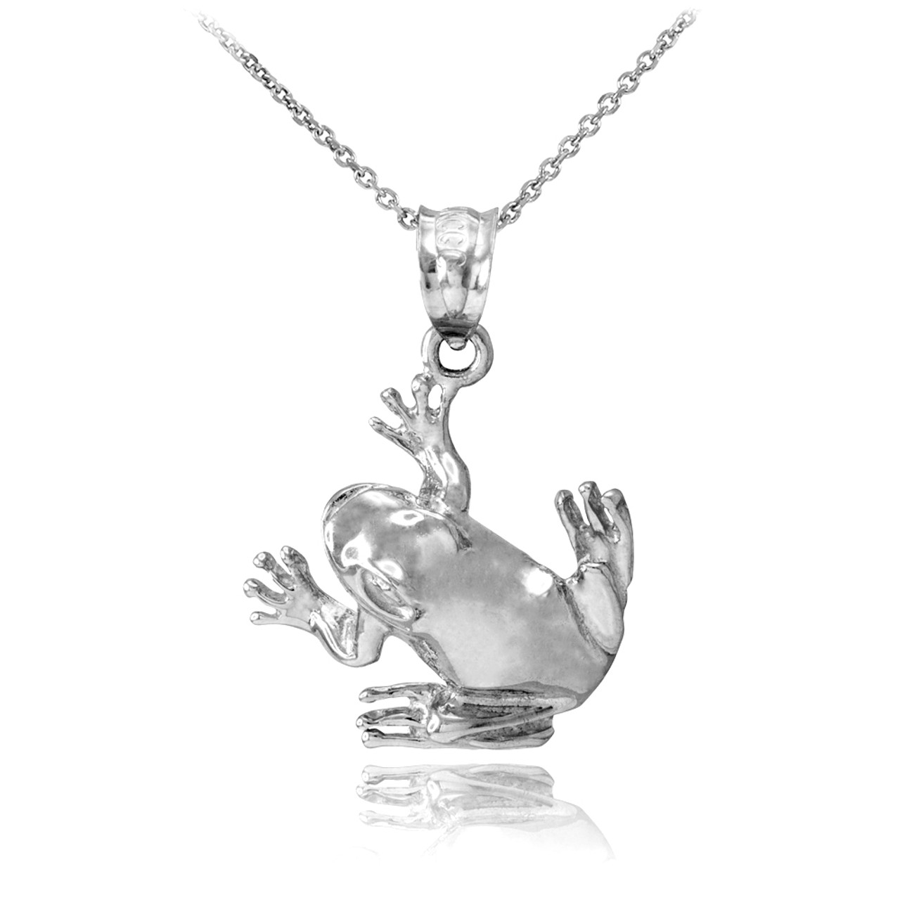 jewelry silver charms products xp frog fees sterling handmade pendant and esquivel