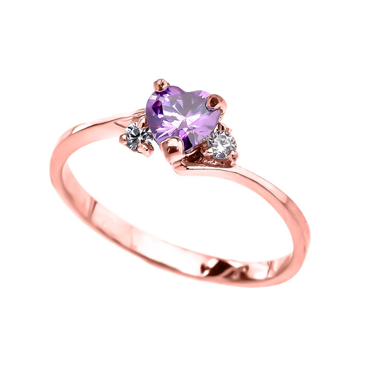 Cz Alexandrite Ring
