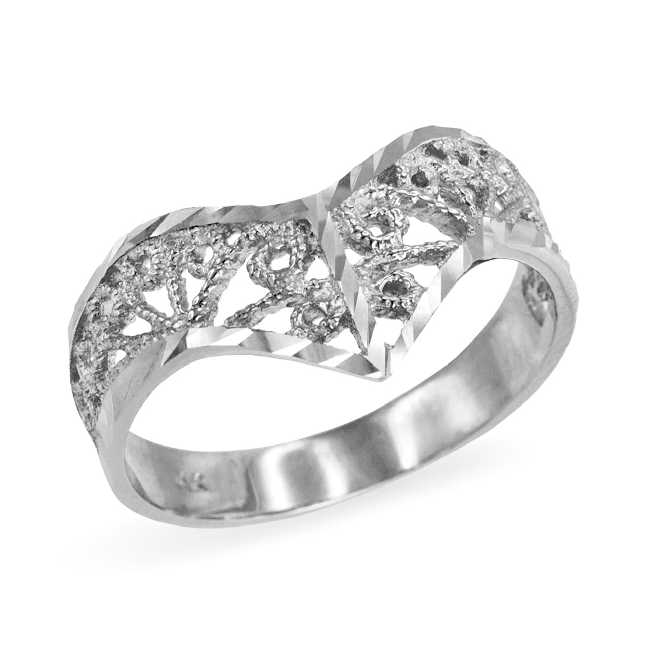 kara up engagement by diamond vintage rings kirk inspired wedding signature filigree