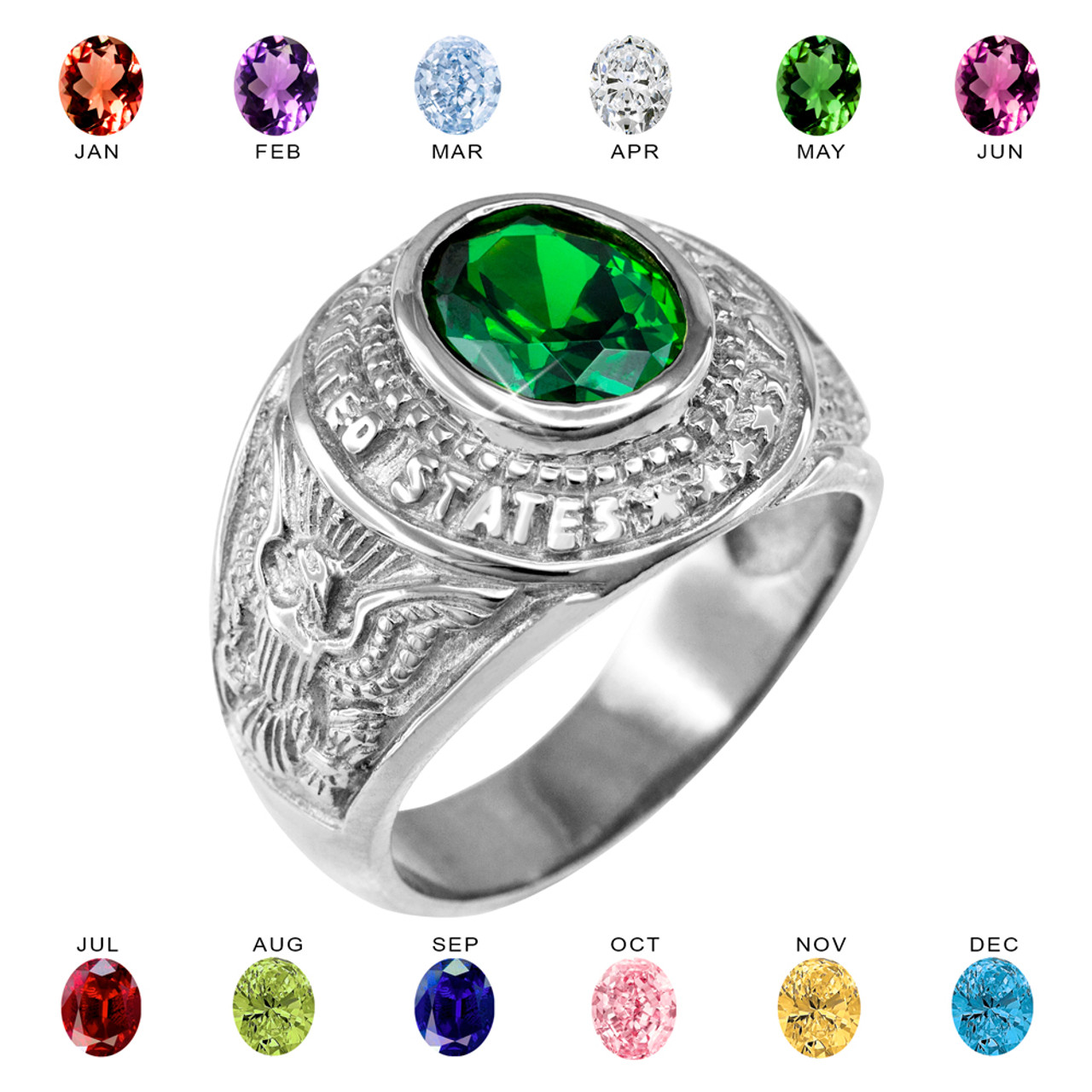 gemstone solid for green from women item may gifts silver leige in ring rings wedding jewelry cut sterling birthstone emerald