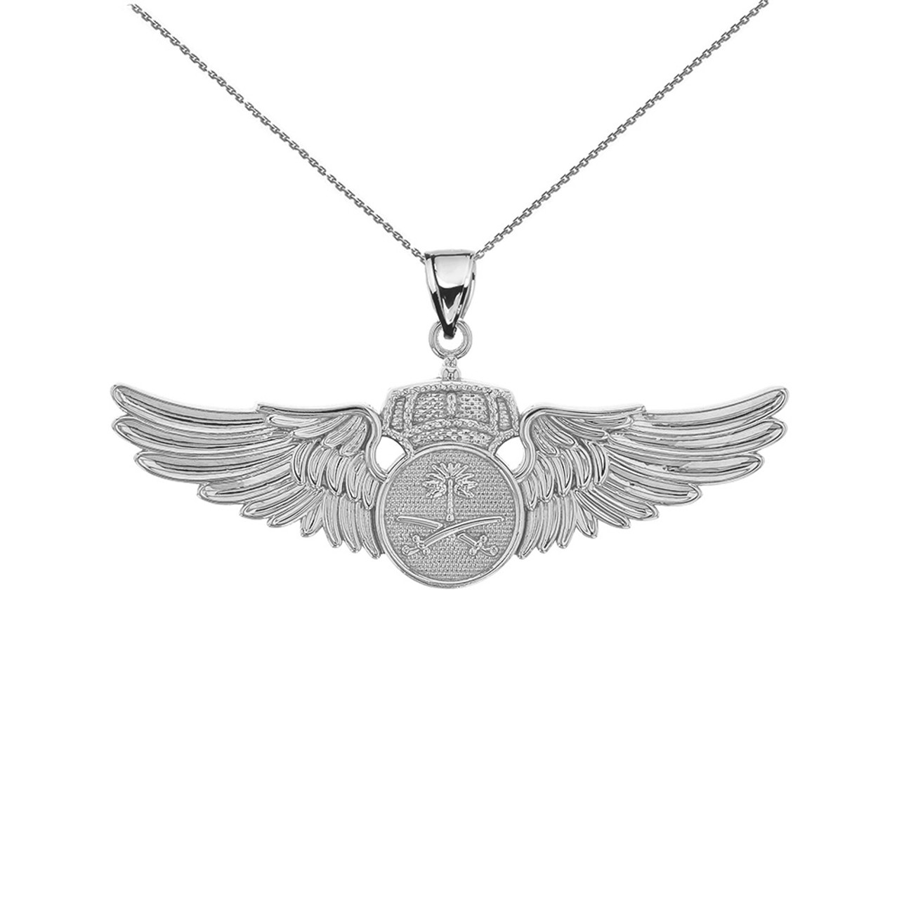 jewellery be product wing pendant gemmed angel