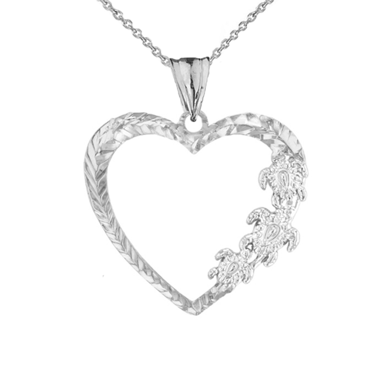 Daesar 925 Silver Necklace with Pendant Necklace for Women Fashion Dolphin Cubic Zirconia Necklace Pendant Silver
