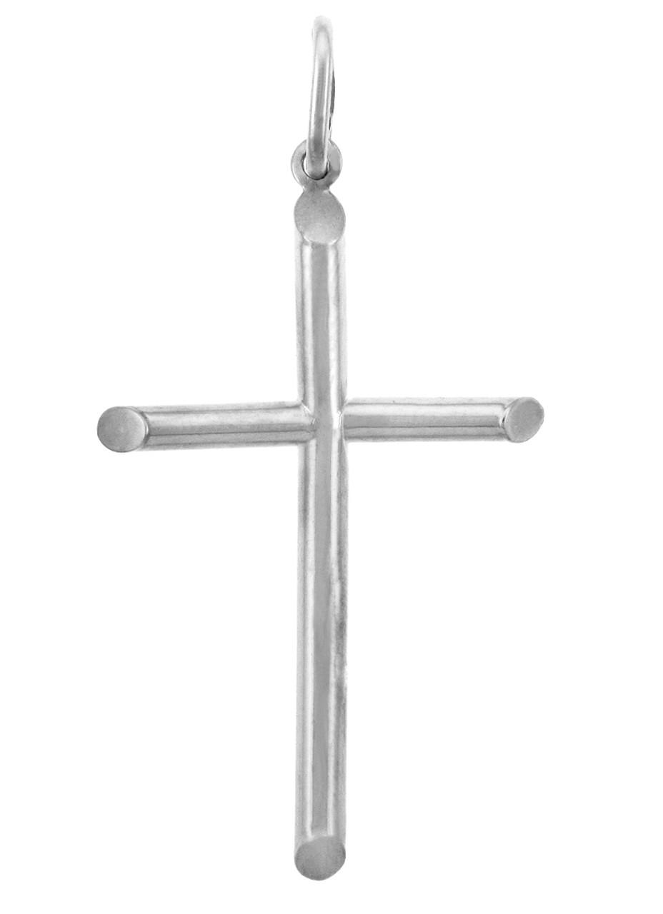 White gold crosses large gold cross pendant aloadofball Choice Image