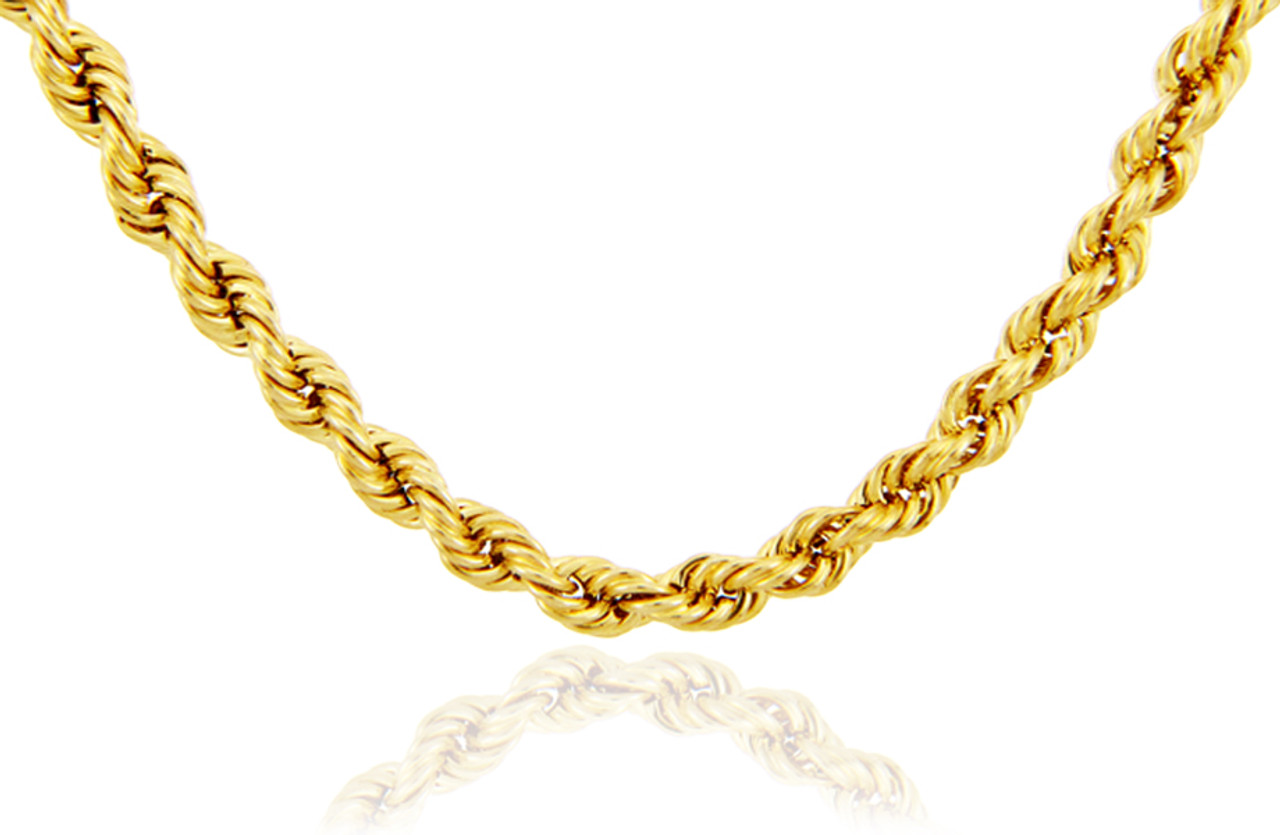 chain mia miajwl products diamond women inoxydable for acier stainless rosegold steel gold chains cut necklace inches