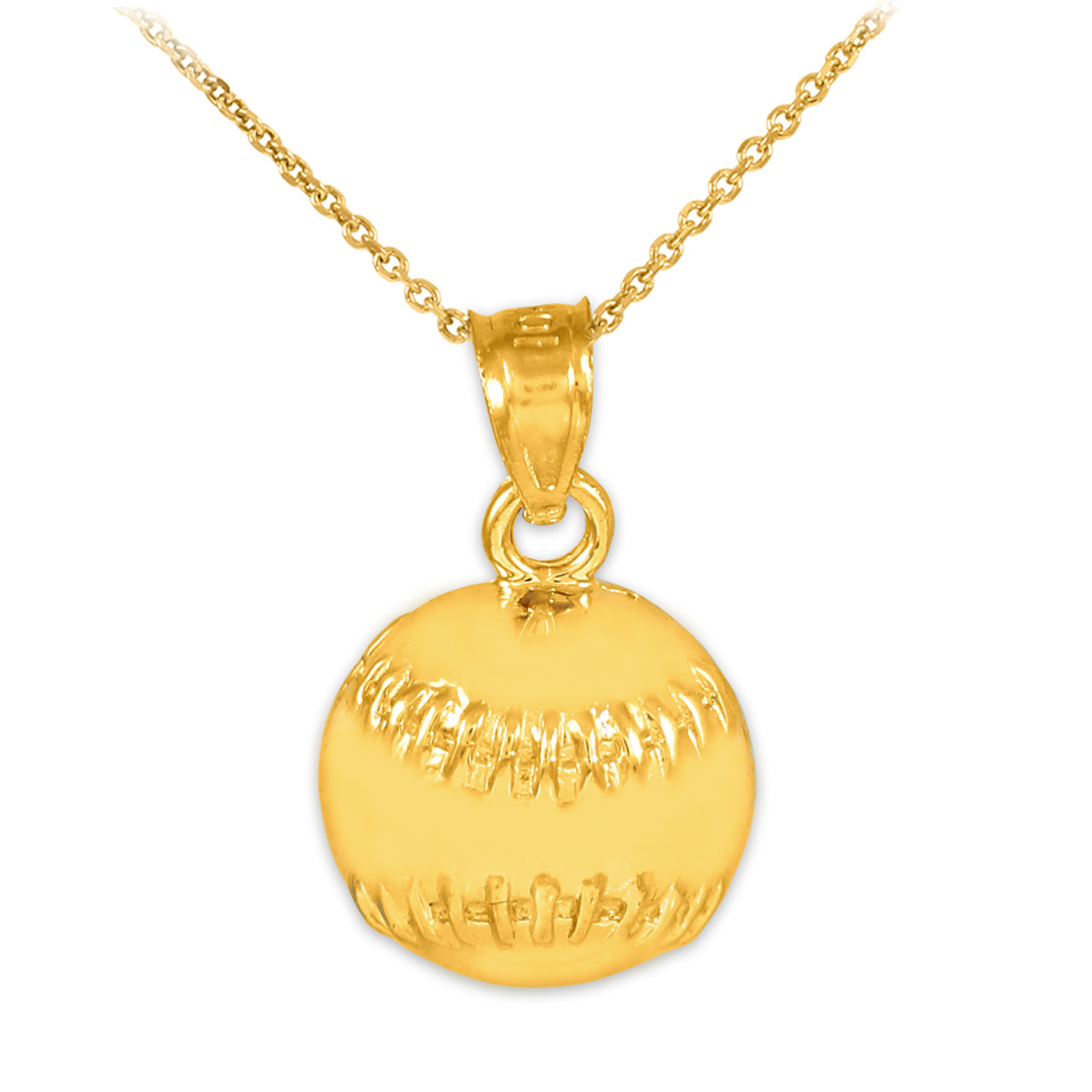 baseball for silver is accent hanging softball and with pin crafted catch enthusiast plated the glove crystal necklace to this any or perfect well ball wear fun