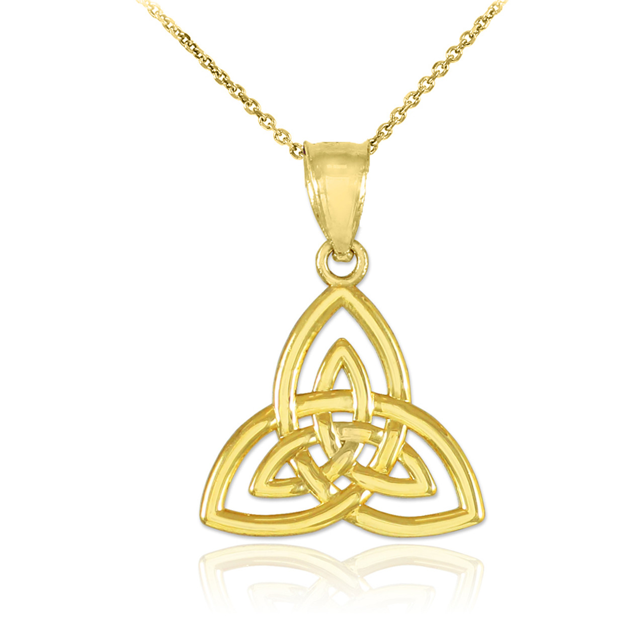 collection sterling chain pattern pendant initial collections c initials celtic silver necklace in knot