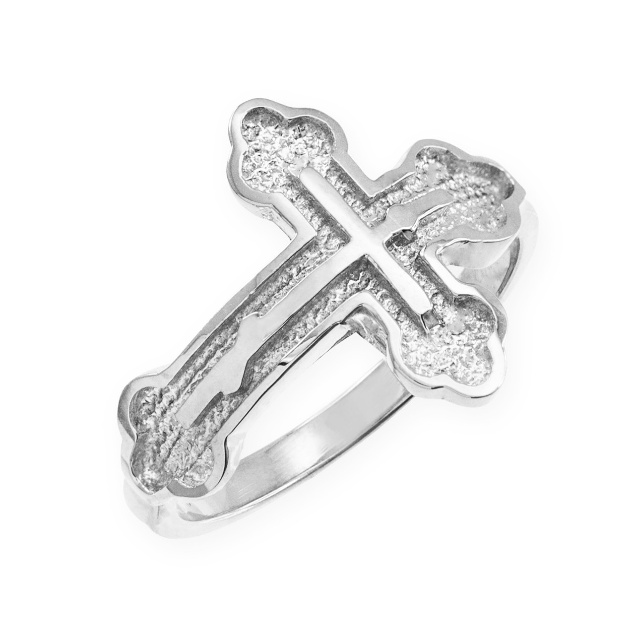 Sterling silver eastern orthodox cross ring russian cross sterling silver eastern orthodox cross ring buycottarizona