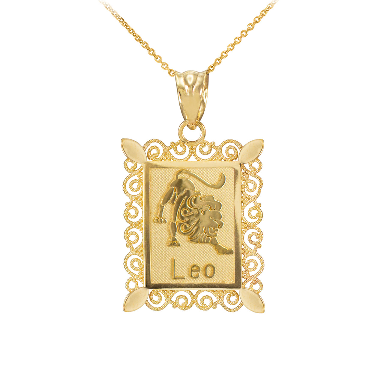 gold sheffield rectangular pendant yellow product ingot