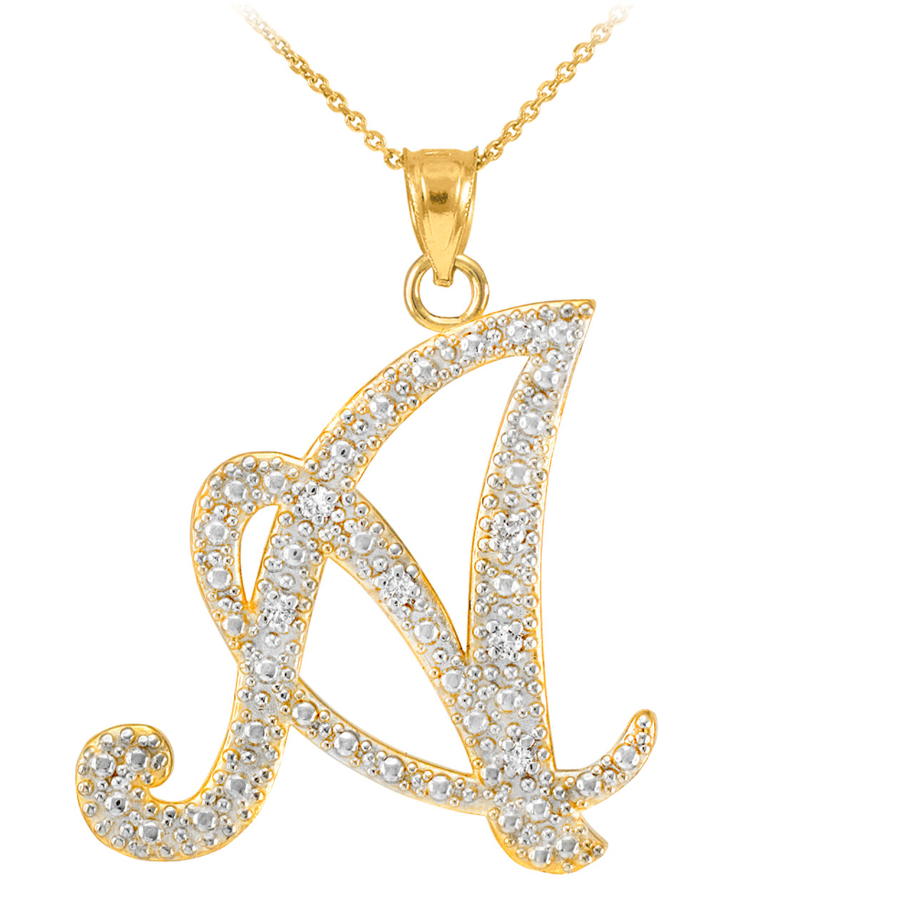 c custom smith cursive products mara necklace