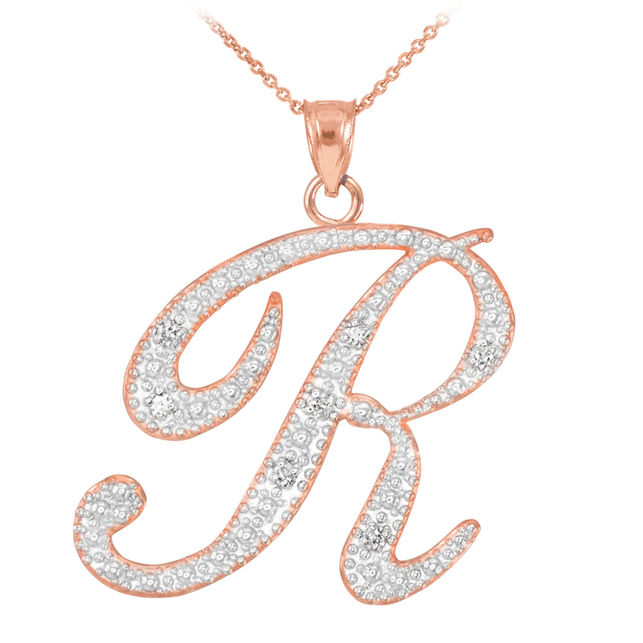 in ed jewelry pendant necklaces alphabet peretti letters gold rose perettiletter z pendants necklace letter a elsa