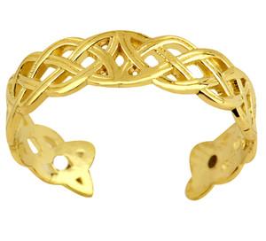 14 Trinity Toe Ring