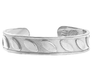 Fancy Marquis Silver Toe Ring