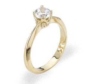 Ladies Cubic Zirconia Ring - The Isis Diamento