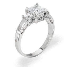 Ladies Cubic Zirconia Ring - The Odalis Diamento