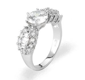 Ladies Cubic Zirconia Ring - The Haven Diamento