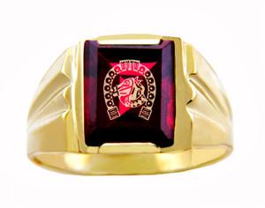 Men's Gold Rings - The Lucky Horseshoe Gold Ring