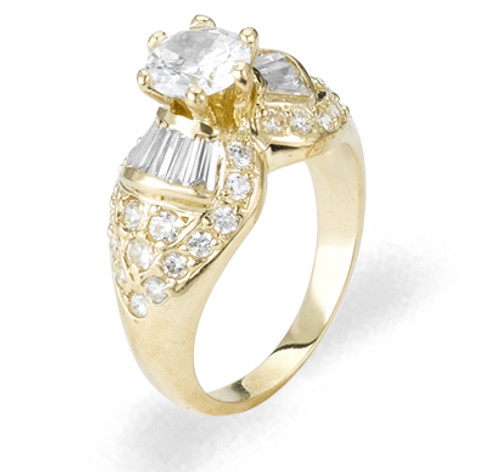 Ladies Cubic Zirconia Ring - The Jacinta Diamento