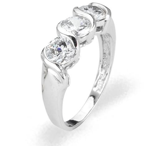 Ladies Cubic Zirconia Ring - The Raina Diamento