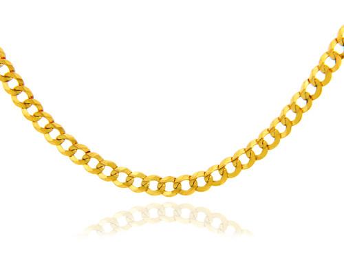Gold Chains: Cuban Gold Chain 2.65mm