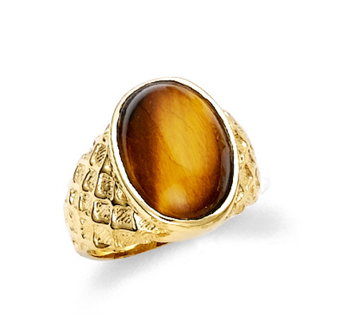 tiger rings jewlery mens eye ring inlay p