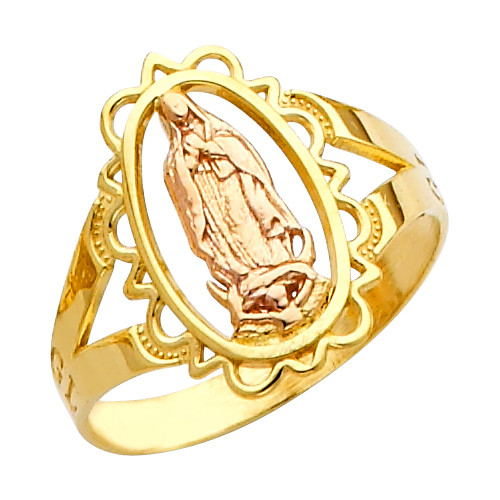 """""""Our Lady of Guadalupe/Nuestra Señora de Guadalupe"""" Ring"""