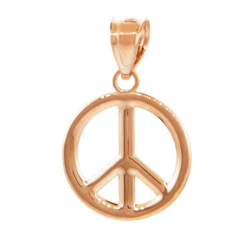 Gold peace symbol pendant necklace m factory direct jewelry gold peace symbol pendant necklace m aloadofball Images