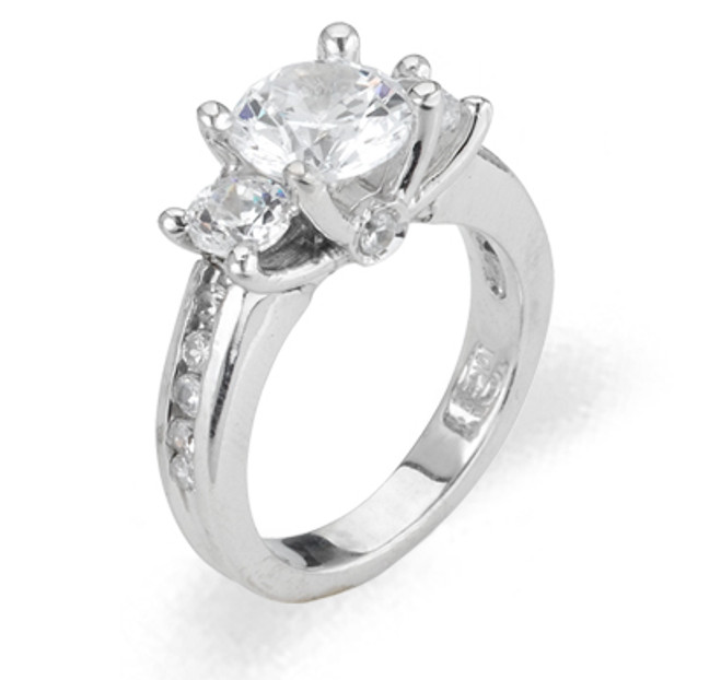 Ladies Cubic Zirconia Ring - The Valencia Diamento
