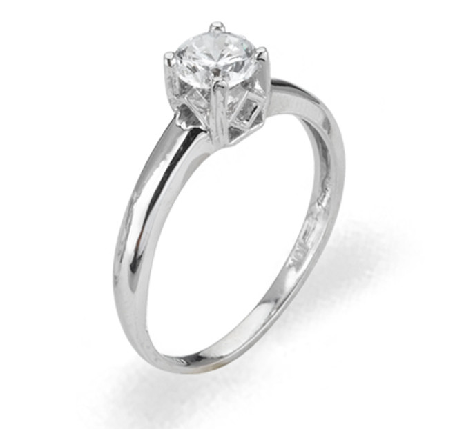 Ladies Cubic Zirconia Ring - The Nayeli Diamento