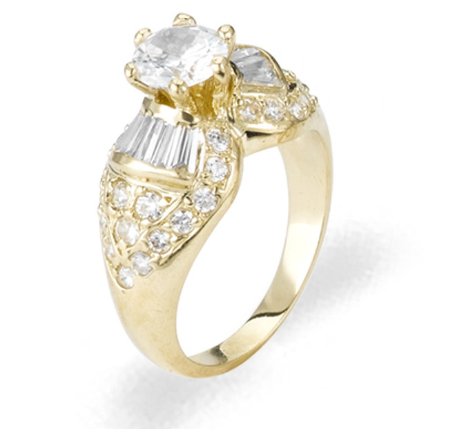 Ladies Cubic Zirconia Ring - The Jacinta Diamento