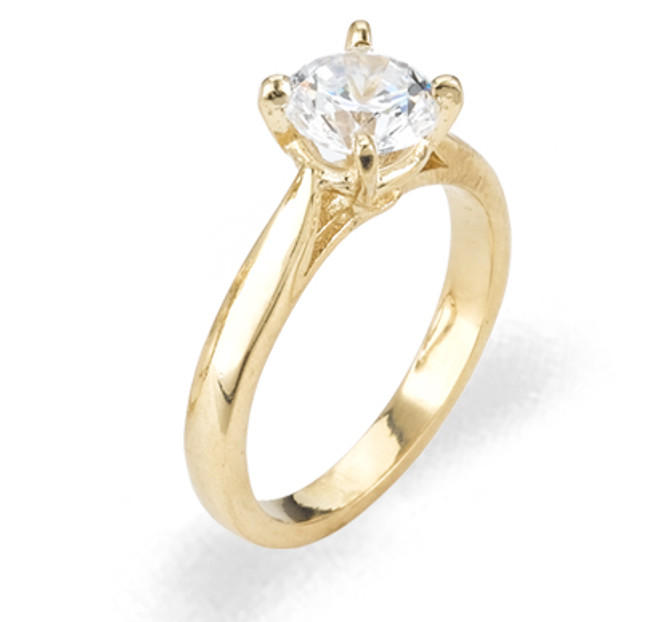 Ladies Cubic Zirconia Ring - The Neha Diamento