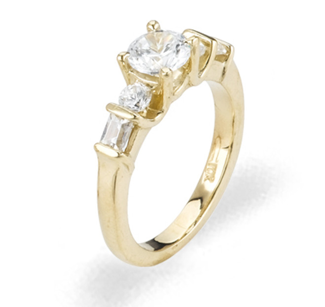 Ladies Cubic Zirconia Ring - The Petra Diamento