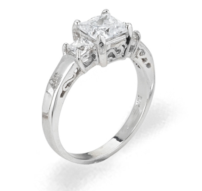 Ladies Cubic Zirconia - The Sara Diamento