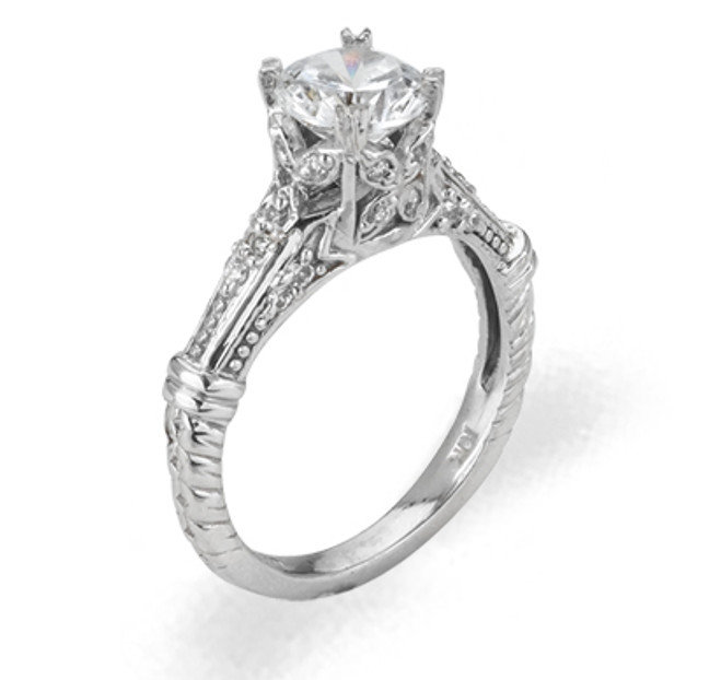 Ladies Cubic Zirconia Ring - The Gemma Diamento
