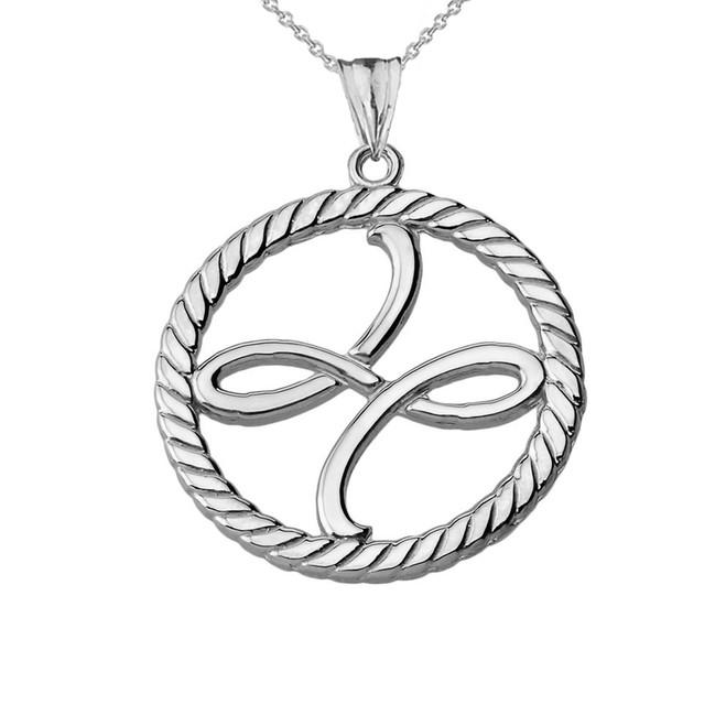Zibu Friendship Symbol Ring In Sterling Silver